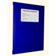 208 page Lined Notebook - BLUE