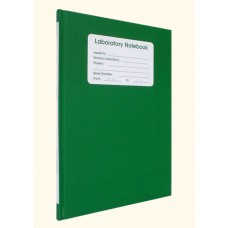 128 page Gridded Notebook - GREEN