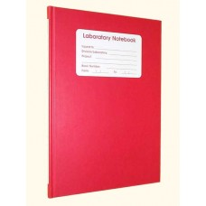 208 page Lined Notebook - RED